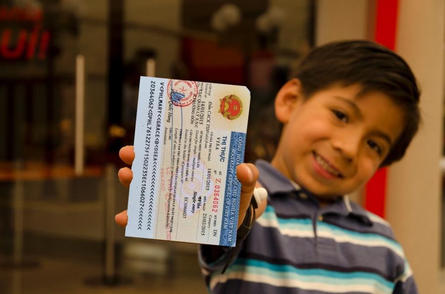 Vietnam visa from Slovakia