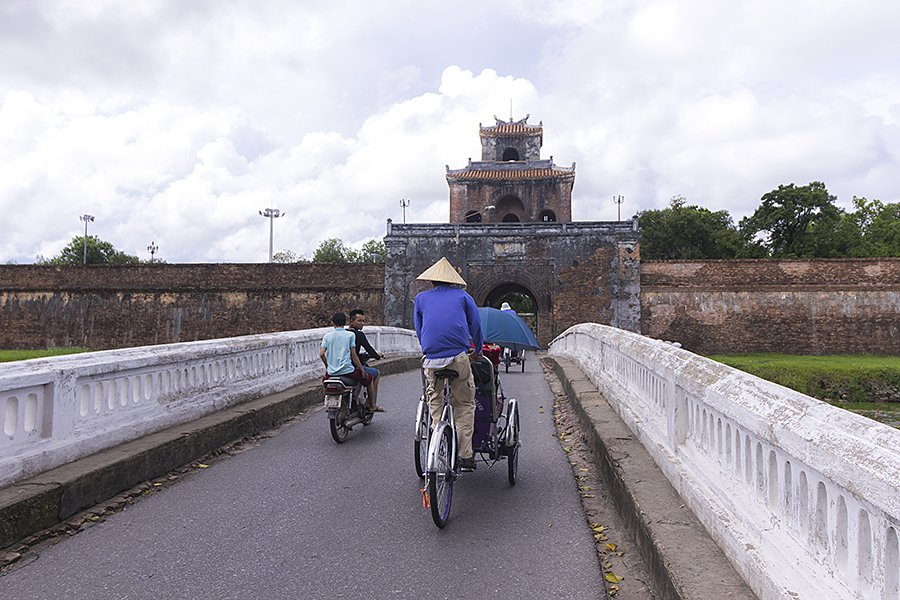 Getting Around in Hue, Vietnam